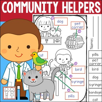 Community Helper Worksheets By Catherine S Teachers Pay Teachers
