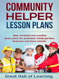 Community Helper Lesson Plans