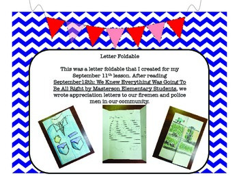 Community Helper Letter Foldable