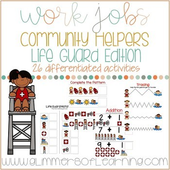 Community Helper: Life Guard Edition Work Jobs