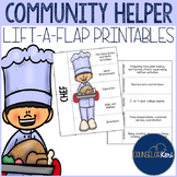Community Helpers Lift-A-Flap Career Exploration Activity for Career Education