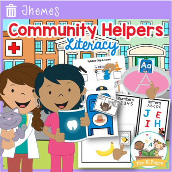 Community Helper Literacy Activities