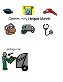 Community Helper Match Book