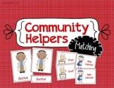 Community Helper Matching - Preschool Social Studies