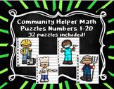 Community Helper Math Puzzles 1-20