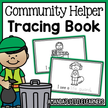 Community Helper Mini Book