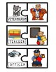 Community Helper Mini Puzzles:  Freebie