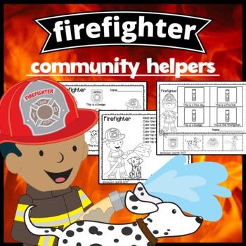Community Helper Mini Set: Firefighters