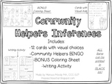 Community Helper/ Occupation Inferences Activity