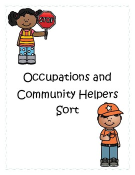 Community Helper/Occupation Sort