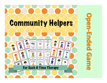 Community Helper Open-Ended Game