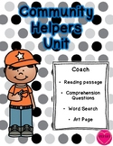 Community Helper Packet - Coach