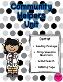 Community Helper Packet - Dentist