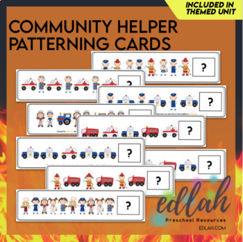 Community Helper Patterning Cards