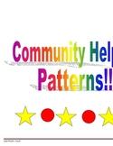 Community Helper Patterns Unit