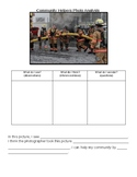 Community Helper Photo Analysis- Firefighter