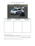 Community Helper Photo Analysis- Police