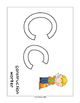 Community Helper Playdough Mats - Set of 20 - Letters and Numbers