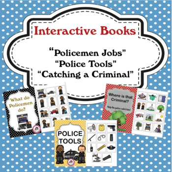 "Community Helper - ""Police"" Interactive Books"