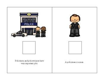 Community Helper: Police Interactive books