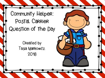 FREEBIE Community Helper: Postal Carrier