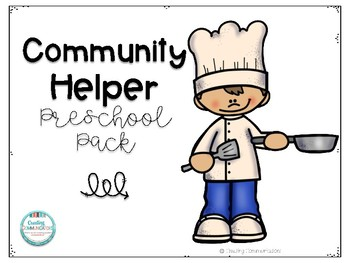 Community Helper Preschool Pack
