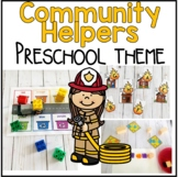 Community Helper Math and Literacy Centers for Preschool, PreK, and Kinder