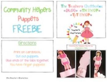 Community Helper Puppets