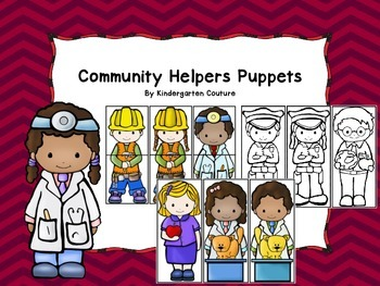 Community Helper Puppets