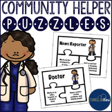 Community Helper Puzzles for Early Elementary Career Education