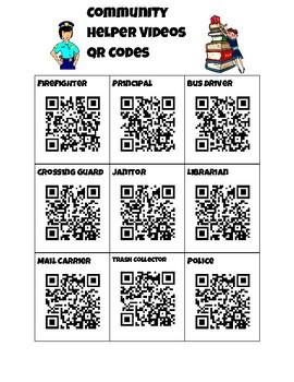 Community Helper QR Codes