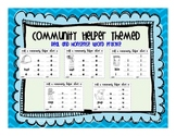 Community Helper Real and Nonsense Word Practice