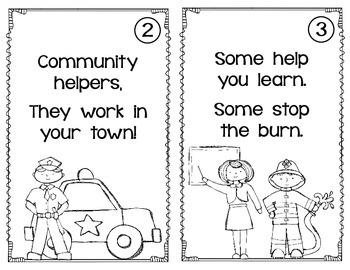 Community Helper Unit- Aligned with 1st Grade Common Core