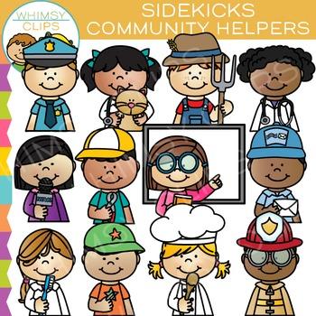 Sidekicks Community Helper Clip Art