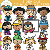 Sidekicks Community Helper Clip Art