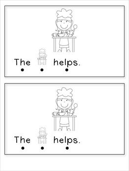Community Helper Sight Word Reader -- the & helps