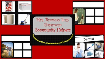 Community Helper Sorting Mats
