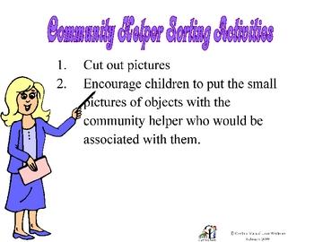 Community Helper Sorting Part 2
