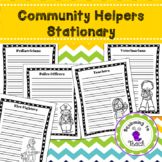Community Helper Stationary