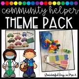 Community Helper Theme Pack for Preschool, Pre-K, and Kind