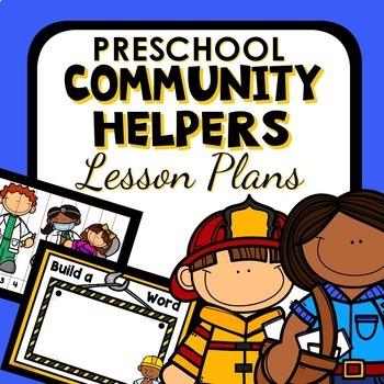 Community Helper Theme Preschool Lesson Plans