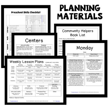 community helpers preschool lesson plans community helper theme preschool lesson plans by 587
