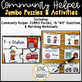 Community Kid Helpers - Jumbo Puzzles & Activities