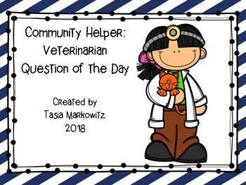 Community Helper: Veterinarian