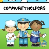 Community Helper Vocabulary Word Cards/ Days of the Week Cards