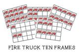 Community Helper Week Fire Truck 10-Frames