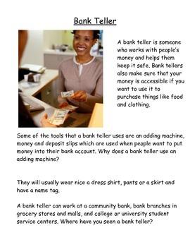 Community Helper Workbook Part 1