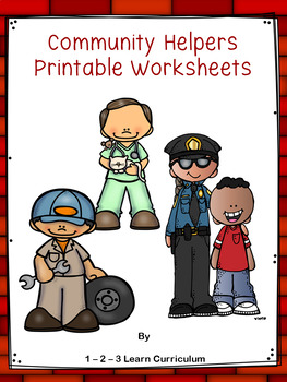Community Helper Worksheets
