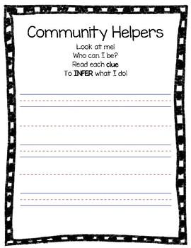 Community Helper Writing to Infer