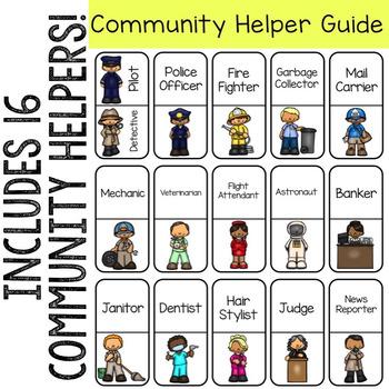 Community Helper Domino Tiles for Early Elementary Career Education